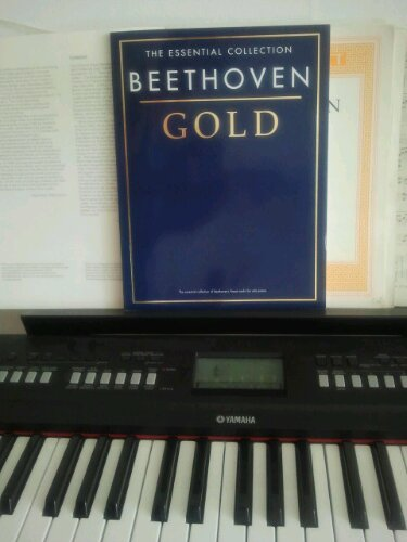 betthoven gold piano noter