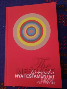 nya testamentet the message eugene peterson
