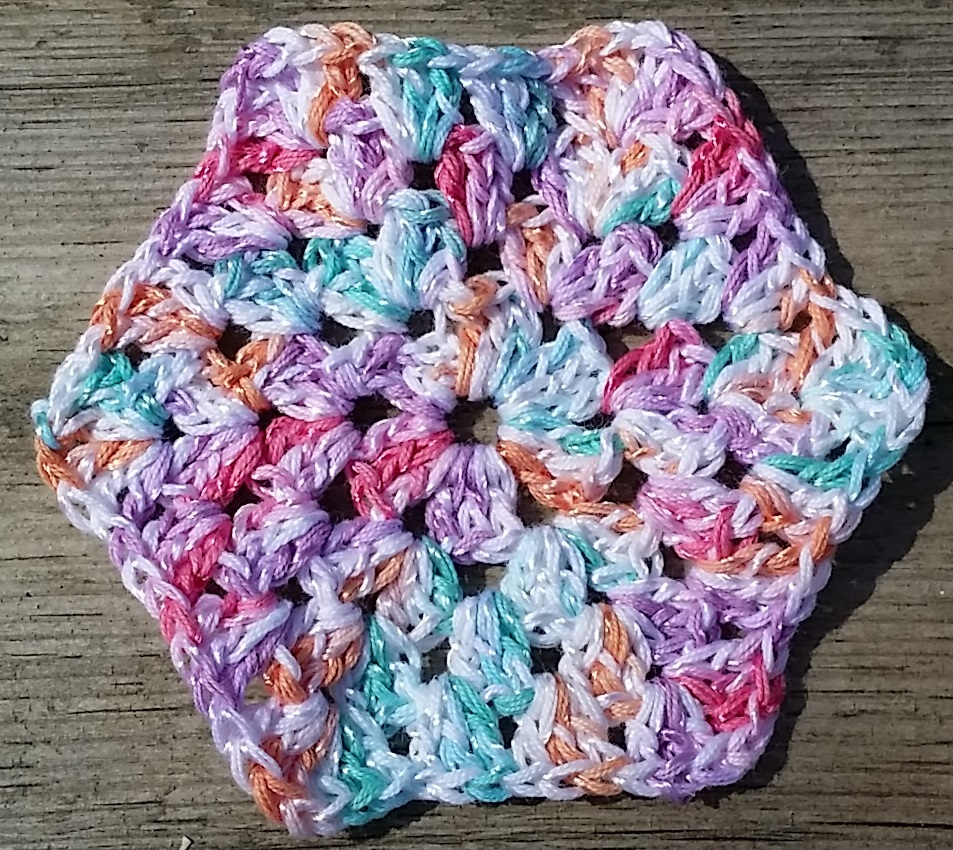 crochet hexagon virkad mormorsruta hexagon nanny