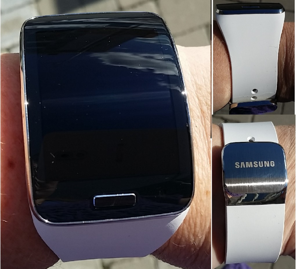 samsung gear s white vit smartwatch smartklocka wearable