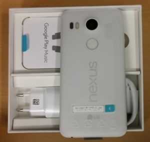 google nexus 5x unboxing