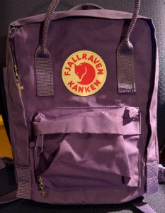 Kånken Mini Fjällräven Fjallraven Purple Lila ryggsäck backpack bag