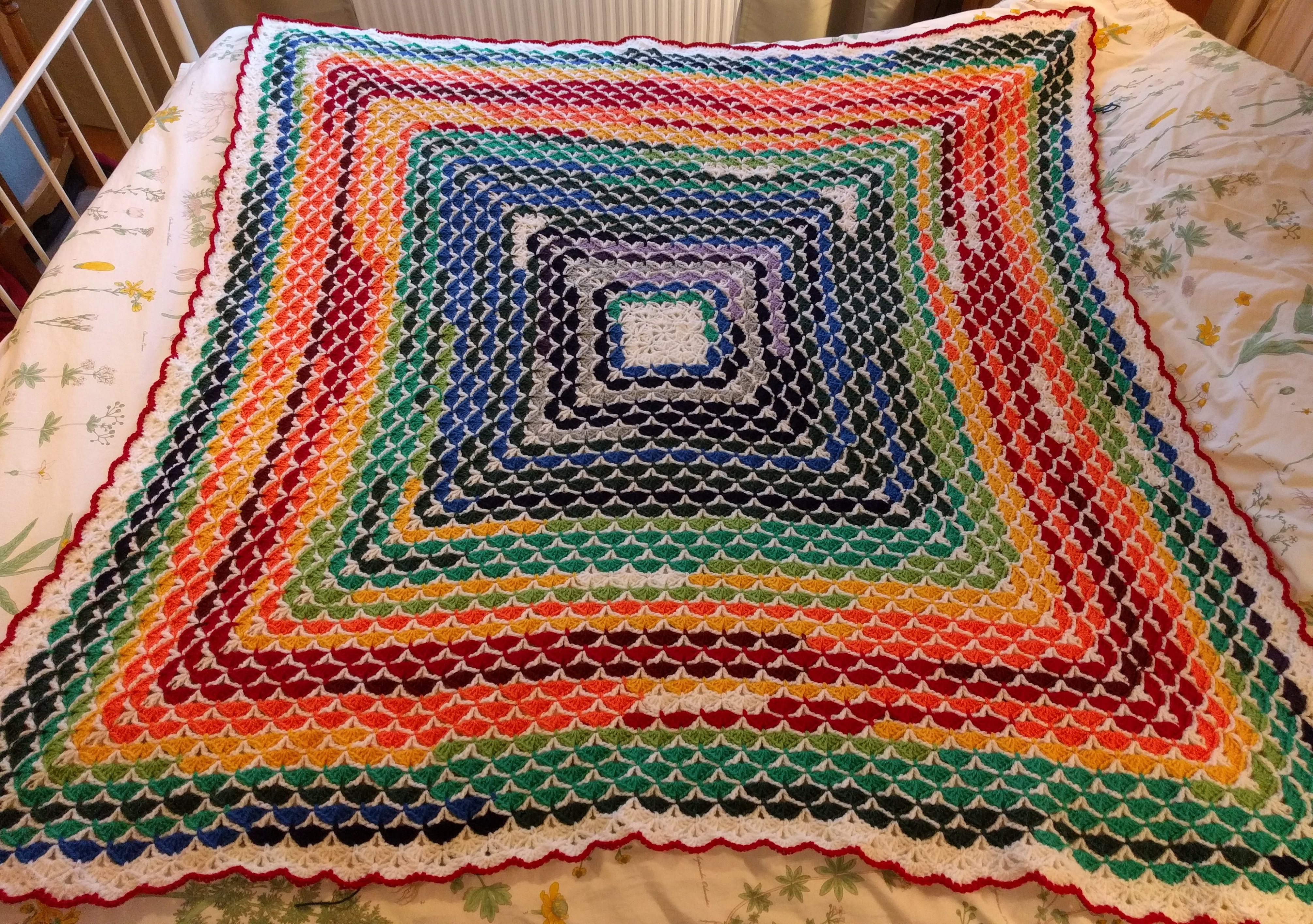 Crochet Patterns For Temperature Blanket : www.markazits.com - Temperature blanket / afghan