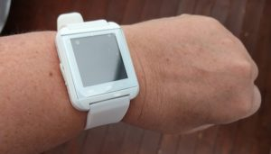 U8 U watch smartwatch smartklocka smart klocka white vit
