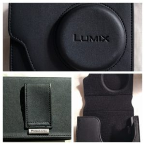 Panasonic LUMIX TZ 80 (DMC-TZ80 SZ60) camera bag case black väska