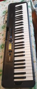 Casio ct-s300 casiotone keyboard digital piano